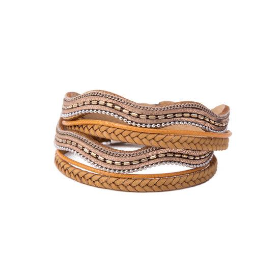8509002-wikkelarmband-met-magneetsluiting-goud