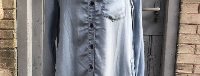 dames blouse/tuniek blauw najaar 2018