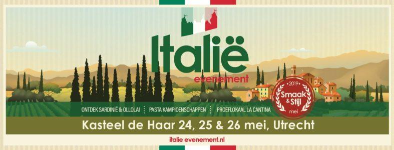 Smaak en Stijl Italie 24 tm 26 mei 2019 Kasteel Haarzuilens