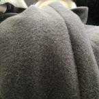 voorjaar- najaarsjas krijt grijs oversized